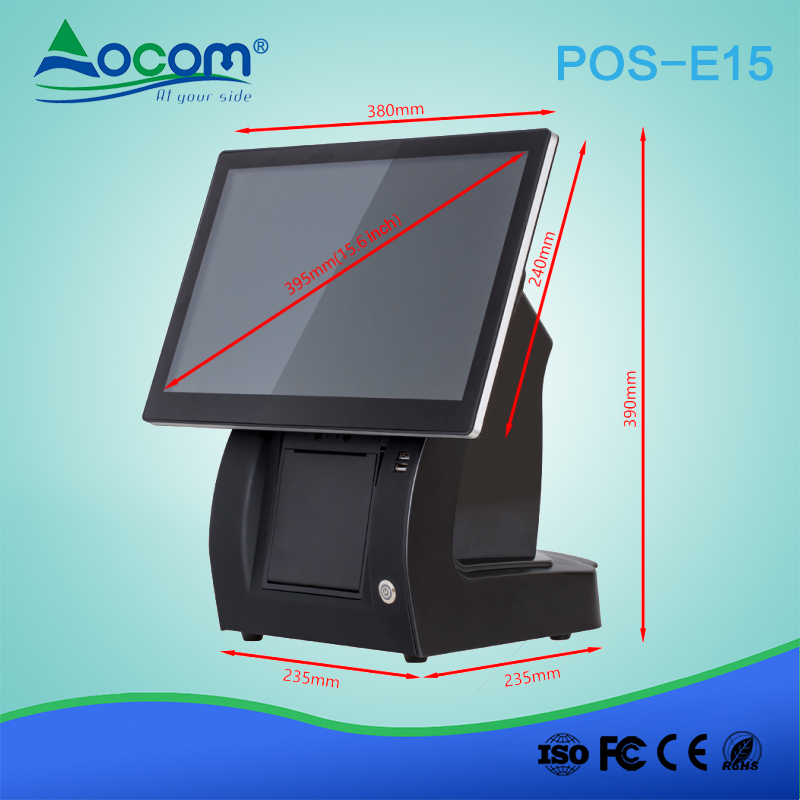 15.6 POS Machine All In One POS Machine With Printer