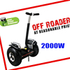 hot sell 72v Samsung Li-ion Balance scooter Off Road High Power Electric Scooter for sale