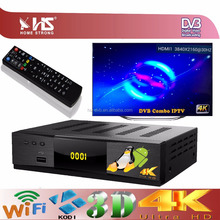 Combo iptv 4k satellite receiver dvb-t2/dvb-s2/dvb-c android satellite receiver