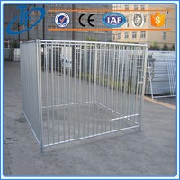 ISO9001 economy lightweight dog cage and portable powder coated dog cage