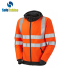 New products cheap safety reflective hoodies sweatshirts jacket