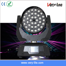 RGBW zoom 36x10w 4in1 led mini moving head wash light for stage decoration