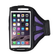 Cell accessories light wighted neoprene mobile phone armband with key pocket for iphone for samsung for HTC