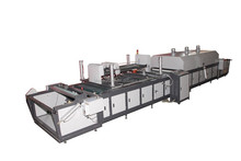 roll to roll fully automatic flat silk screen print machine
