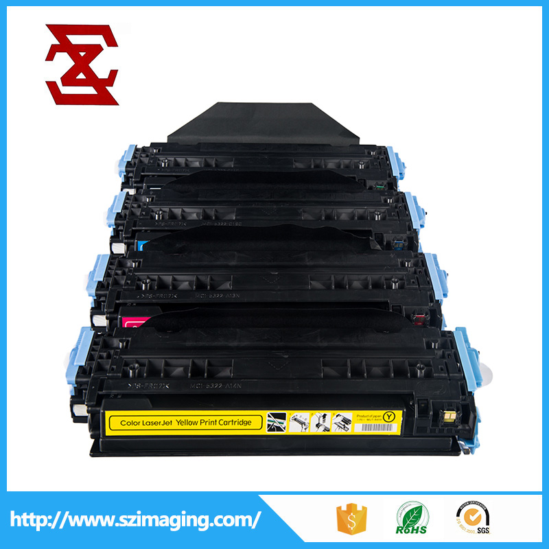 Premium color toner cartridge for HP 124a q6000a q6001a q60002a q6003a