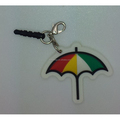 PVC umbrella key tag