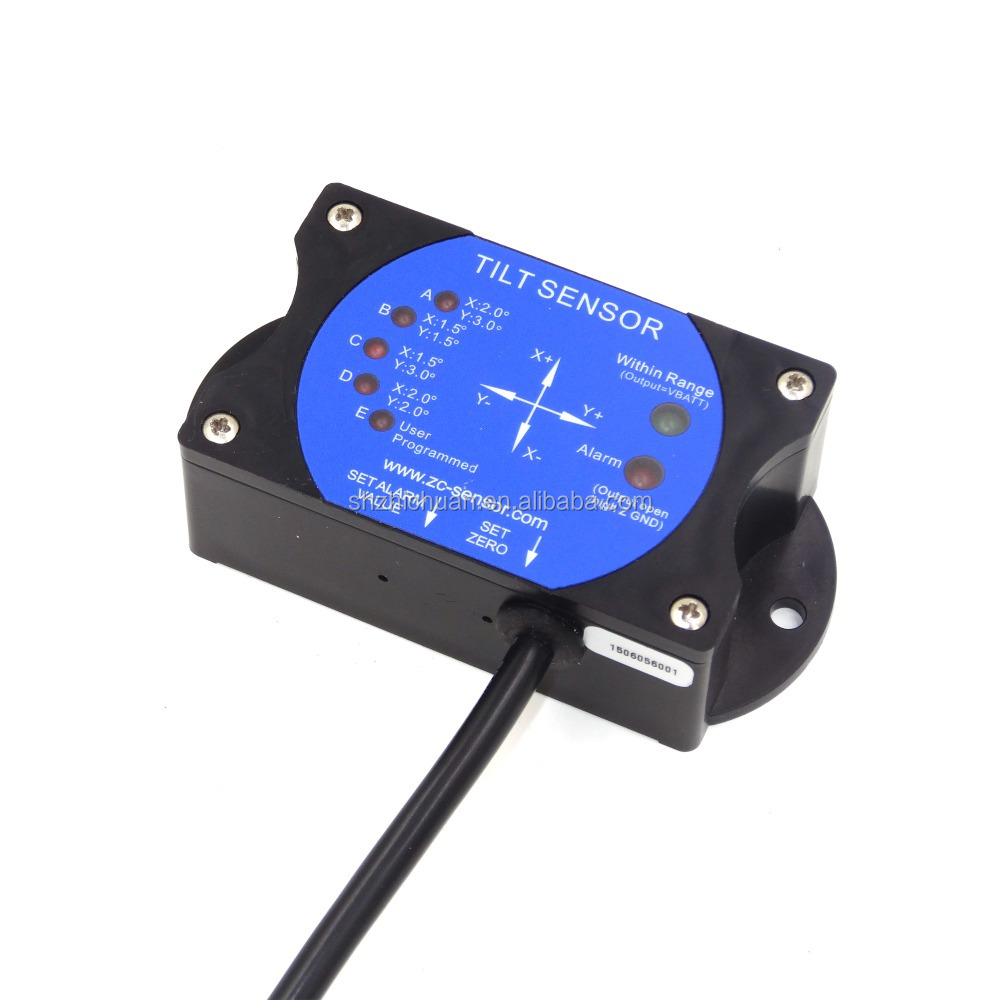 ZC Sensor Low Cost fast response time inclinometer remote angle sensor