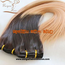 Grade 7A 100% human remy virgin all cuticle clip hair 220g remy clip in hair extension
