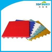 Hot sale modified PP durable indoor soccer flooring