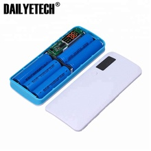 NEW Power Bank 3 Ports 5x18650 DIY Portable Battery Power Bank Shell Case Box from DAILYETECH