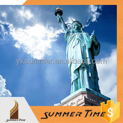 bronze or stainless steel the Statue of Liberty sculpture