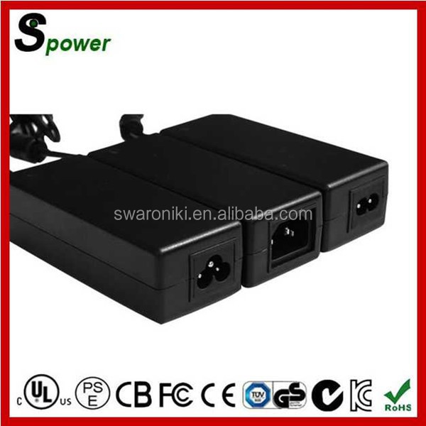 24V 5A Switching Power Supply With Rohs CE GS BS Certification