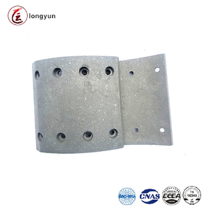 Brake shoe lining brake drum liner for yutong bus