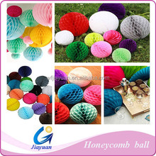 2015 Wedding Birthday Favors Paper Honeycomb Ball