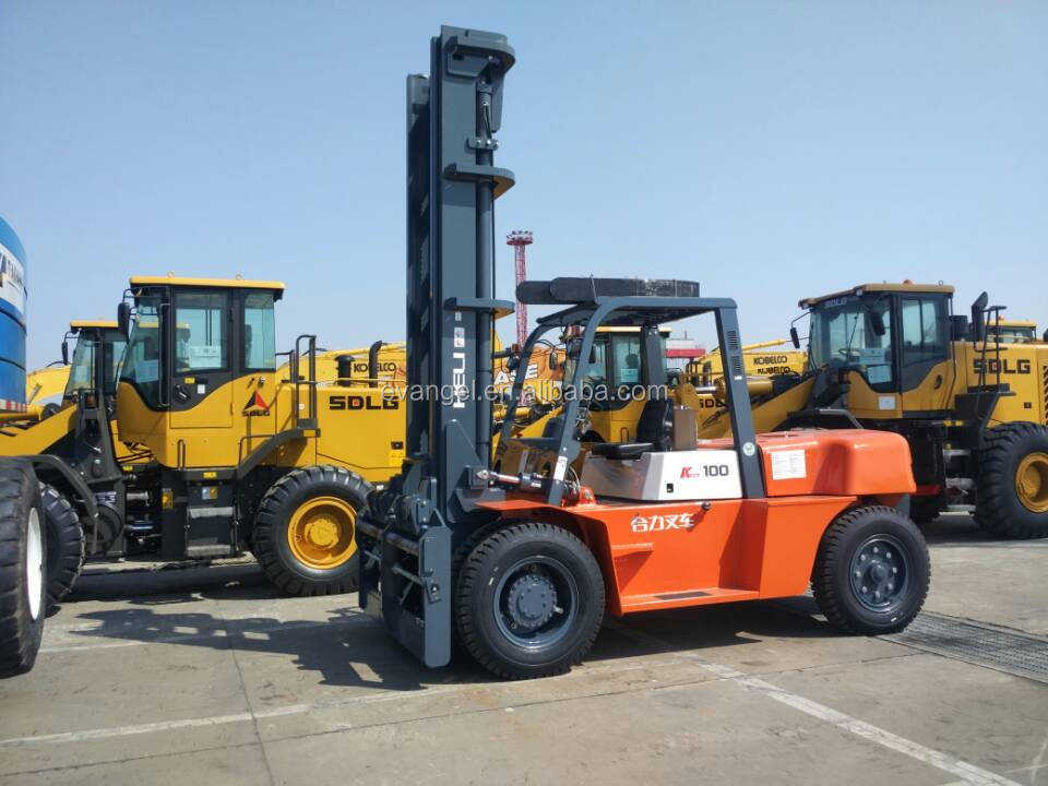 Anhui Heli 16 tons diesel forklift CPCD160 HELI brand forklift price