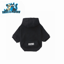 Autumn Winter Elasticity plain Blank color Pet dog Hoodie Cloth
