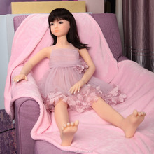 125cm Lifelike Anal Sex Real Full Silicone reality all solid one-piece silicone doll Entity dolls all the dolls with bones