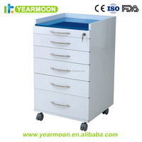 Cheap Hospital clinic Dental cabinet furniture for Stainless Steel Lab Portable Cabinets