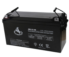 GEL deep cycle 12v 150ah solar battery