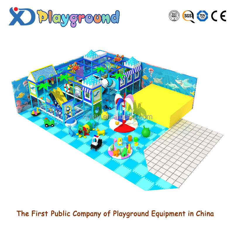 Wholesale customized ocean style indoor playground in top quality