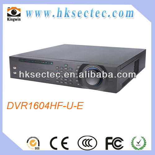 32CH Effio 960H & IP 2U Hybrid DVR recorder