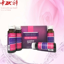 New product ideasZHONGKE COLLAGEN FRUIT DRINKS 50ml/bottle*10bottles/box hydrolyzed collagen powder remove wrinkles