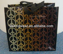 Strength easter pp woven shopping bag for shopping and promotiom