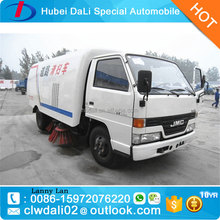 Euro 3 & Euro 2 vacuum road sweeper truck price off road sweeping vehicle 4*2 road cleaning vehicle