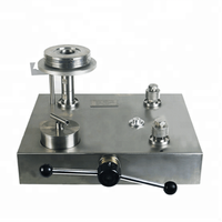 Hydraulic piston dead weight tester