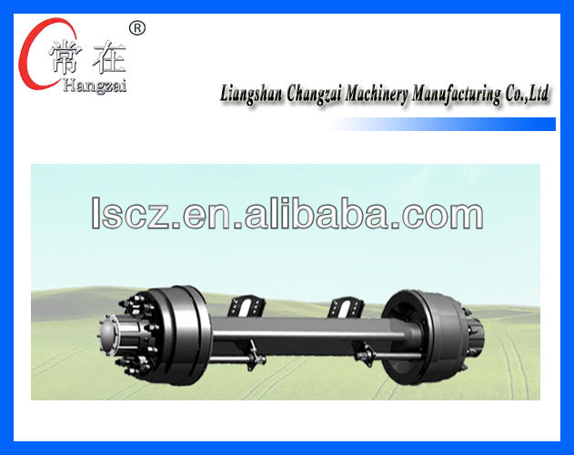 trailer axle used for heavy duty with ISO
