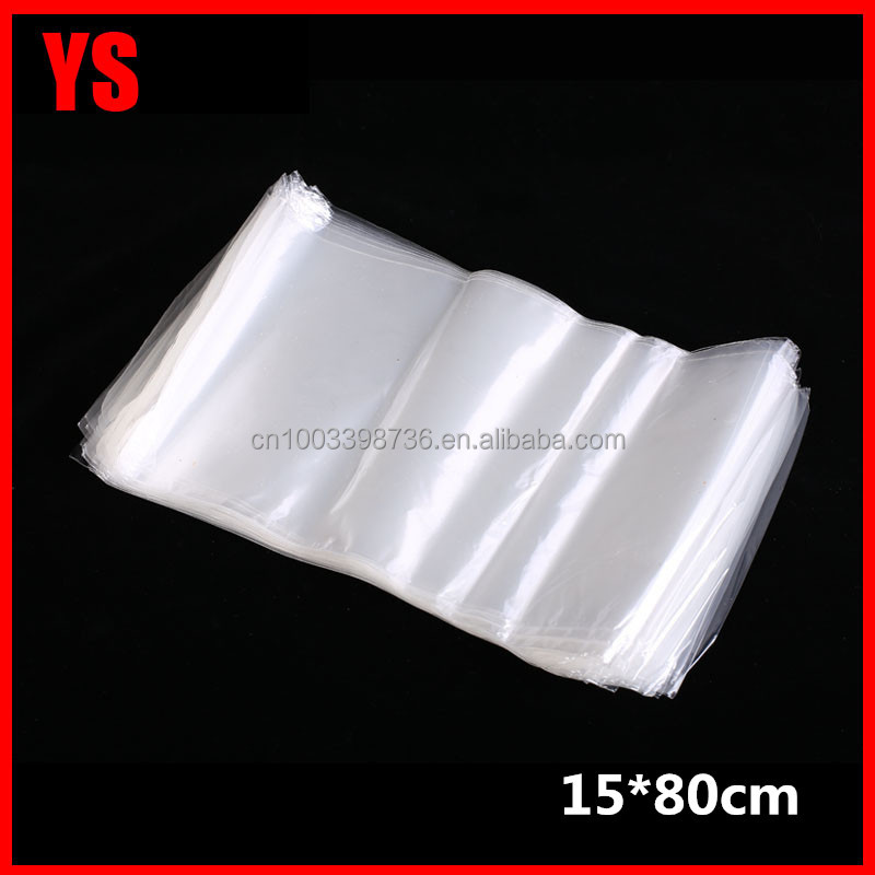 customized size and thickness cambodia plastic bag manufacturers 15*80cm