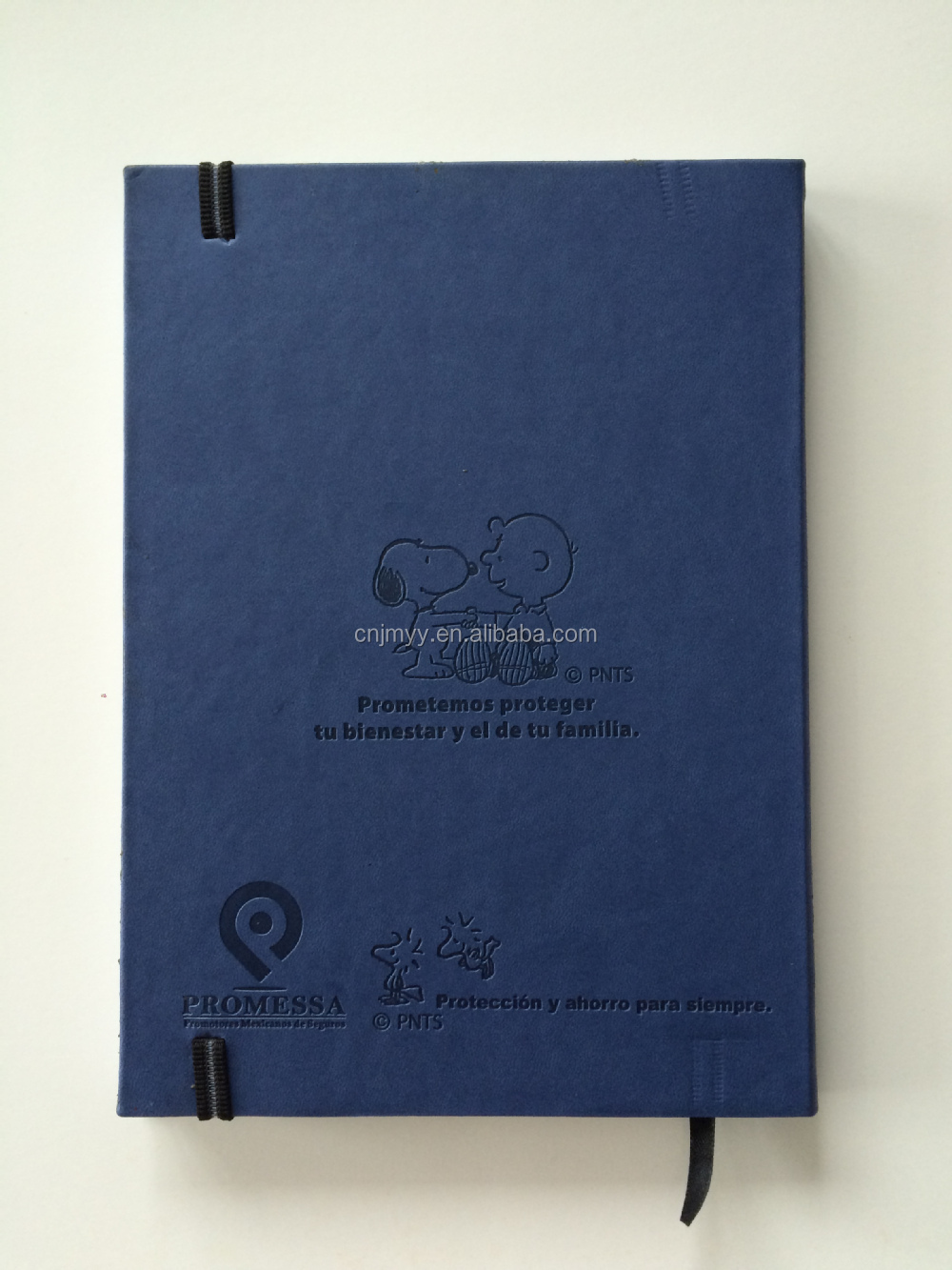 Thermo PU leather cover weekly planner