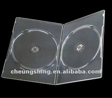 7mm super-clear dvd pp box