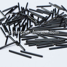 Black Titanium Anodized Over 316L Surgical Steel Barbell Pins Tongue Piercing body jewelry parts