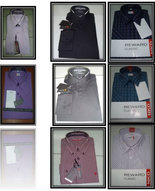 ALL KIND OF DRESS AND FORMAL AND CASUAL SHIRTS
