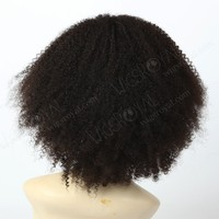 The most popular 10inch Malaysian virgin human hair wigs for black men