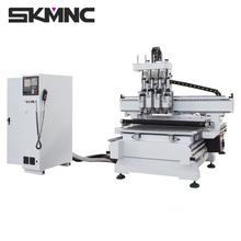 Multi processes cnc woodworking furniture cutting machinery for custom cabinet and door making