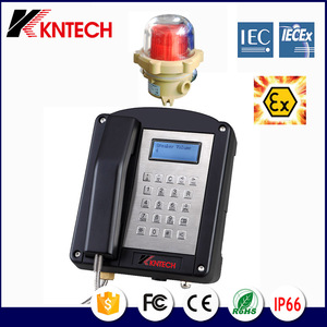 Weatherproof Telephone /used Emergency for help/exit used Industrial Explosion proof Telephone for Hazardous Areas