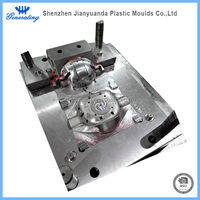 Plastic motorcycle parts injection mold tooling and production