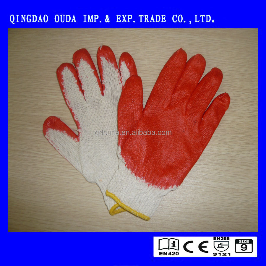 Natural Latex Coated Glove