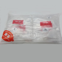 wholesale 500pcs/bag clear full cover Acrylic Nail B10-01-16