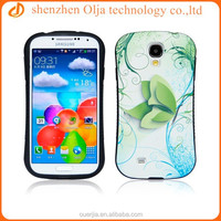 Unique pu leather coating design for s4 case, strong shockproof case for samsung galaxy s4