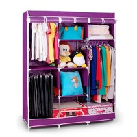 S7 portable bedroom closet cabinets storage closet folding wardrobe godrej steel almirah turkish furniture