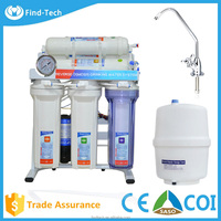 RO treatment for home 6/7 stage mineral alkaline drinking water purifier machine with price