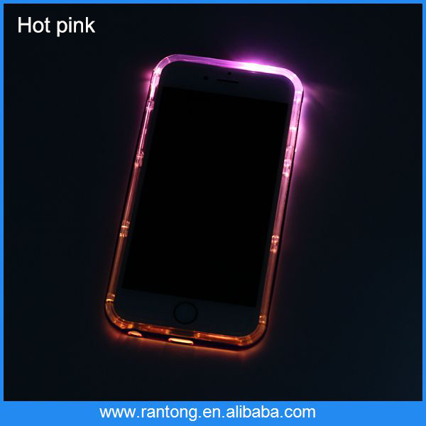 Perfect 4.5 inch light up phone case for samsung galaxy s4
