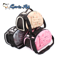 Best Sell High Quality PVC Portable Small Pet Dog Carrier Outdoor Cages