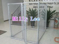 cheap 7.5x13x6 foot chain link fence dog kennel