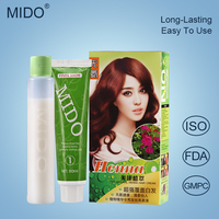 China Hair Color Factory Wholesale Hot Sale Long Lasting Shiny Glow In The Dark Hair Dye Color Cream/Hair Dye With Low Price