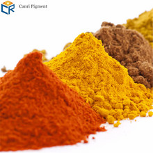 High quality inorganic color iron oxide pigment for cosmetic colorant