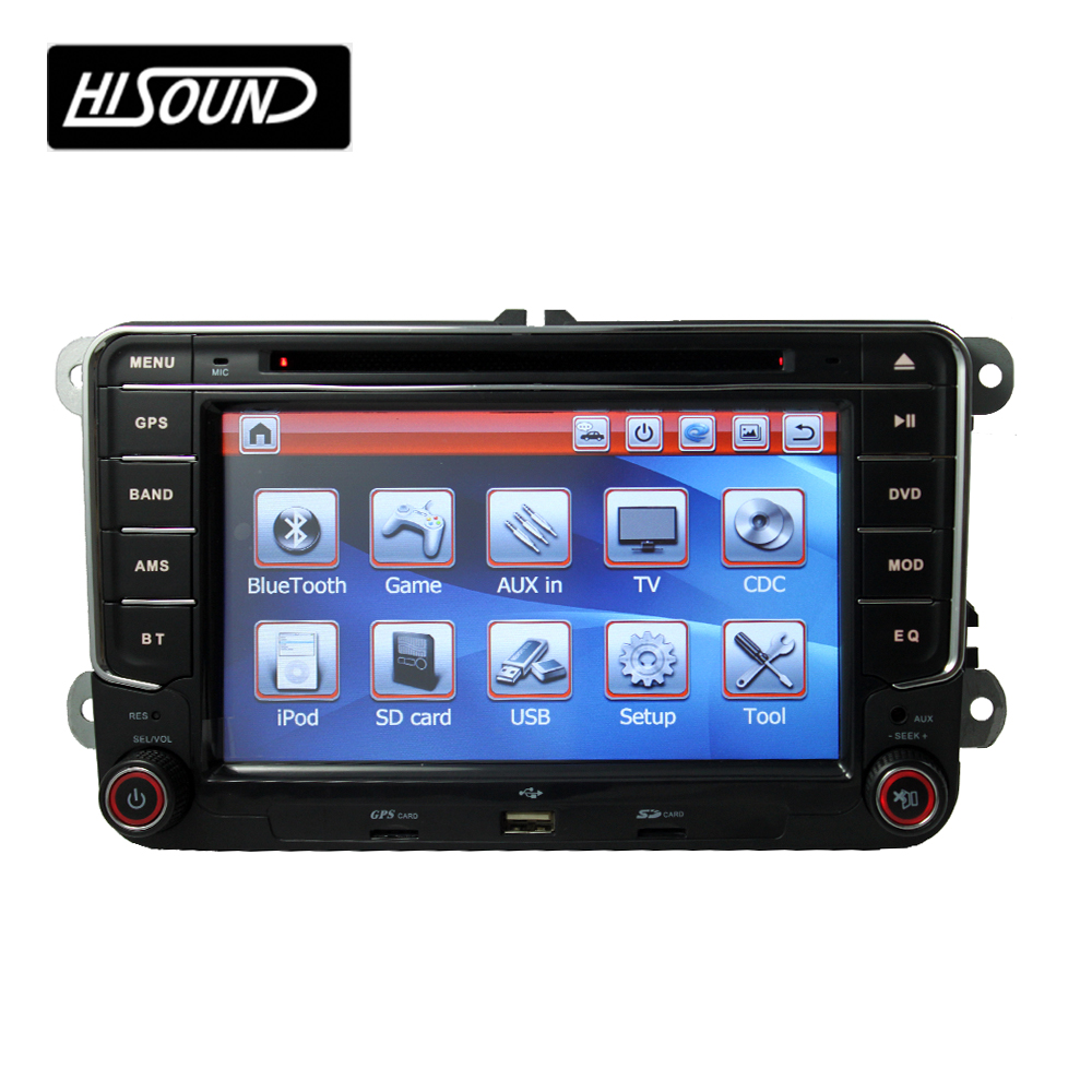 7inch touch screen vw radio 2 din car dvd player